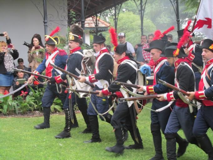 Recreación de la Batalla de Cañada de la Cruz2