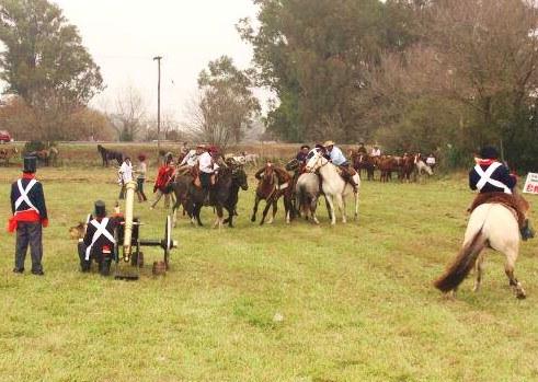 Recreación histórica de la Batalla de la Cañada de la Cruz1