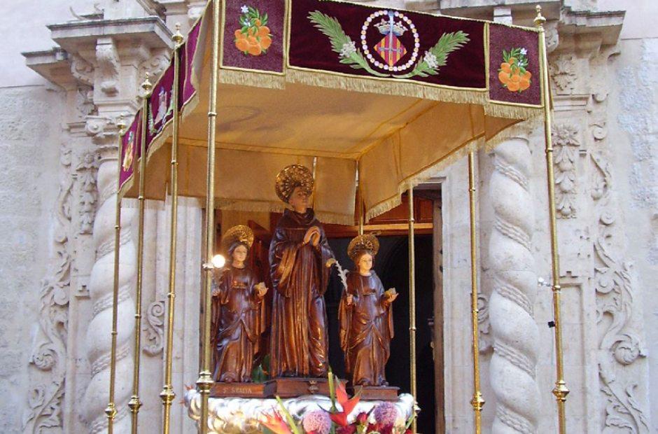 Fiesta patronal en honor a san bernardo